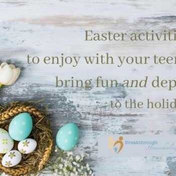 Easter activities to enjoy with teens