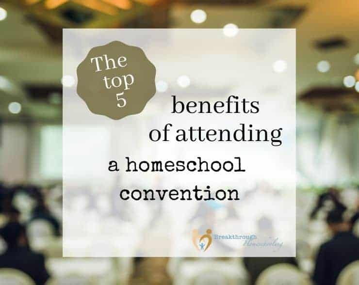 attend a homeschool convention this year