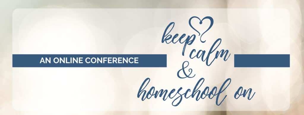 Keep calm and homeschool on...