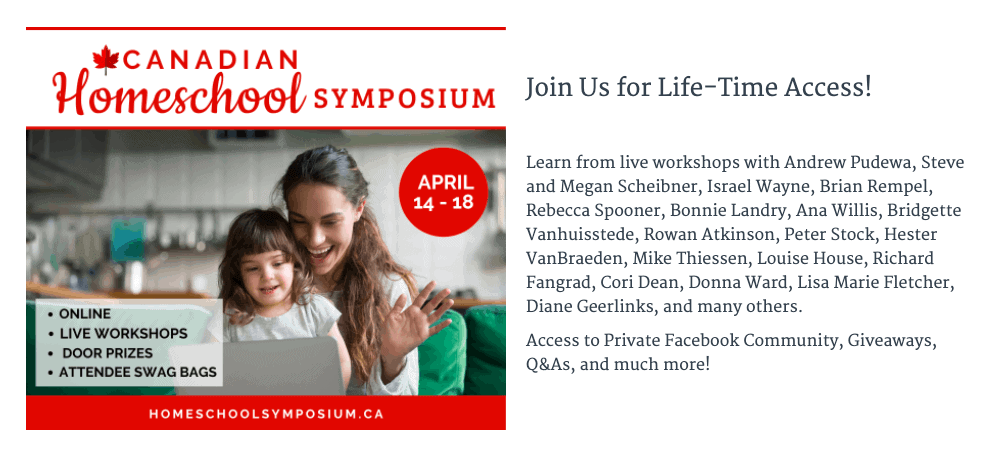 2020 Canadian Homeschool Symposium