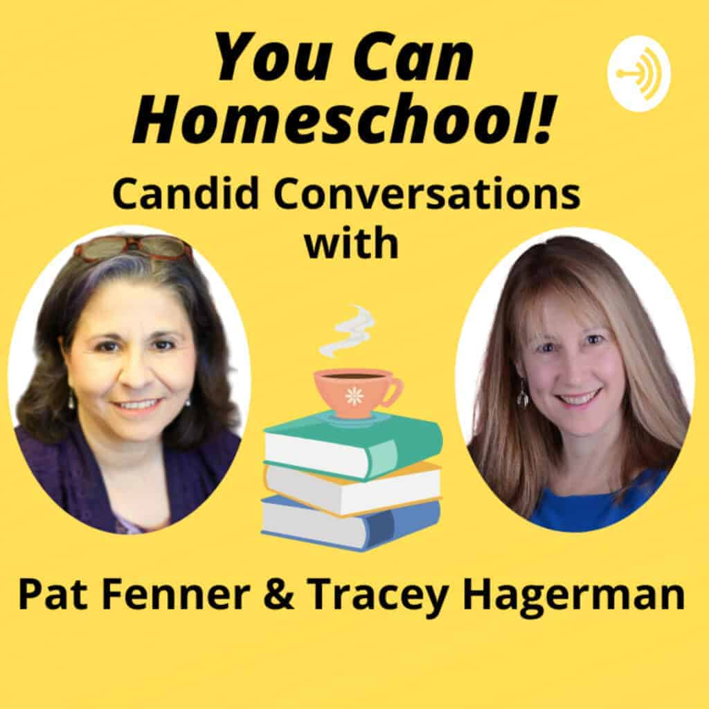 Listen to the You Can Homeschool podcast every week!