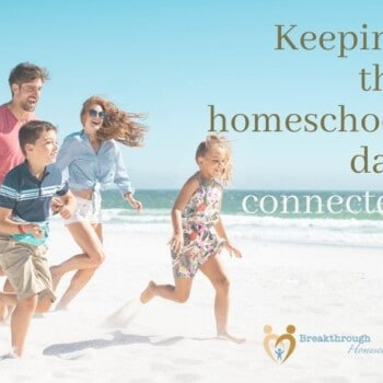 Keeping the homeschool dad conncted