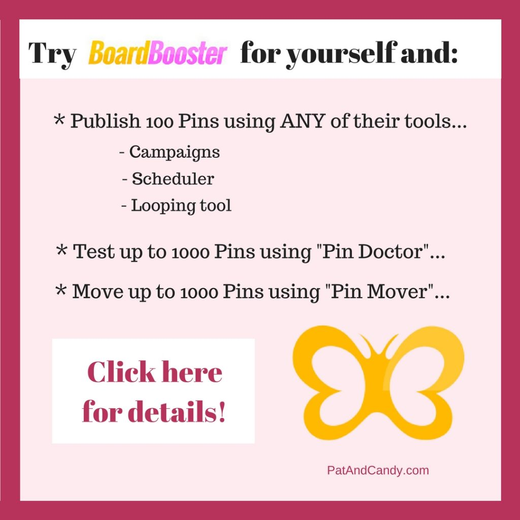 Try BoardBooster for yourself...and get total access to ALL their tools in the process!