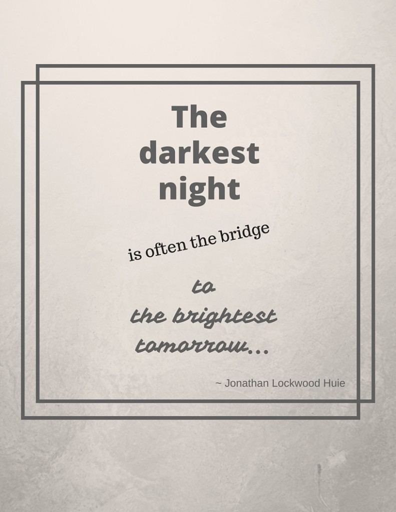 the bridge to the brightest tomorrow