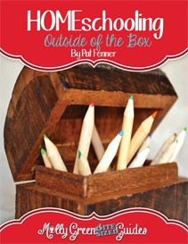 Homeschooling Out of The Box - A Bite-Sized Guide by Molly Green. Written by Pat Fenner.