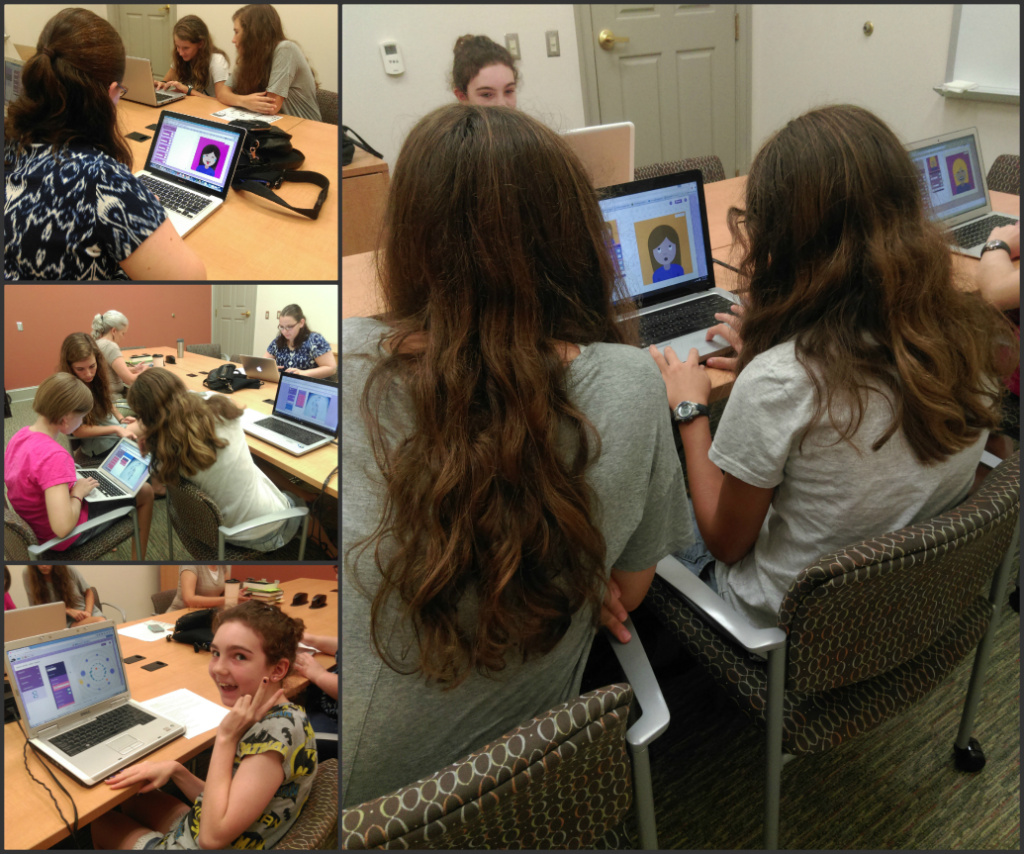 Girls Coding Camp 1
