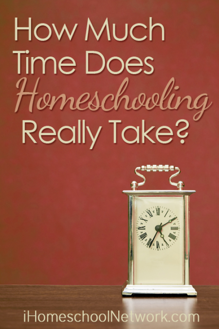 How Much Time Does Homeschooling Take
