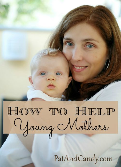 "These ideas to encourage a young mother may be a blessing to your next door neighbor or someone down the street. Never feel you're ""too old"" to reach out, meet and help out a young mom – you know that she will surely be appreciative and thankful for any effort you put forth!"
