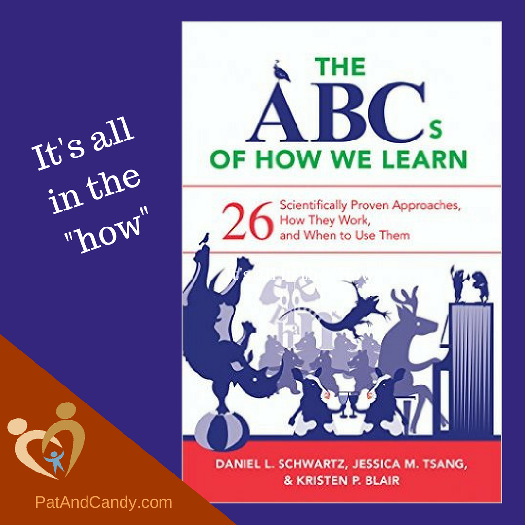 """""""The ABCs of How We Learn"""" is a combination of scholarly and practical information that will help homeschoolers learn how their children learn...and then find great approaches and activities to customize the teaching/learning process. It's a great resource to have on hand!"""