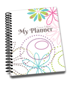 My Grace Filled Planner for homeschoolers