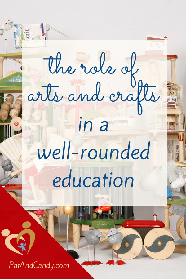 "Arts and crafts classes come in a myriad of types, and adding them into your student's coursework ""ups the ante"" and brings interest and relevancy to learning!"