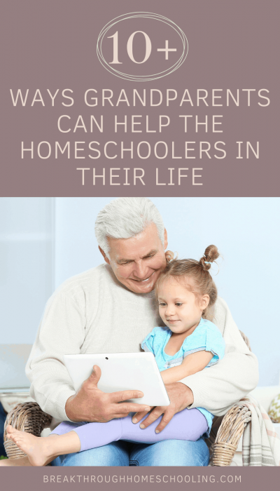 How grandparents can help homeschooling family members