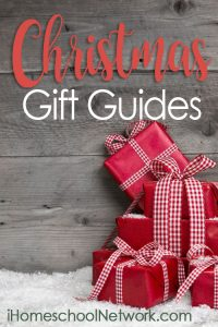 Christmas Gift Guides from our friends from iHomeschool Network